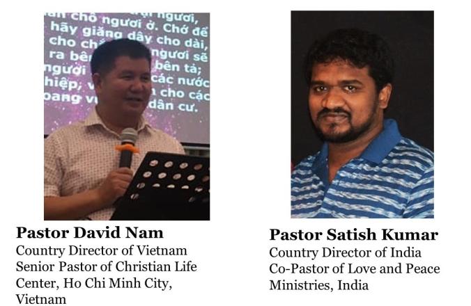 David and Satish