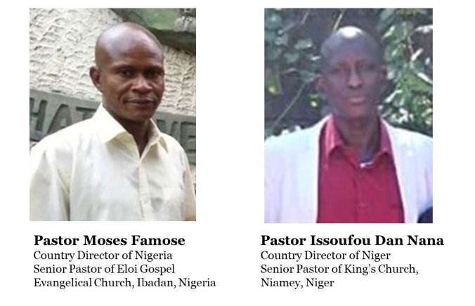 Moses and Issoufou